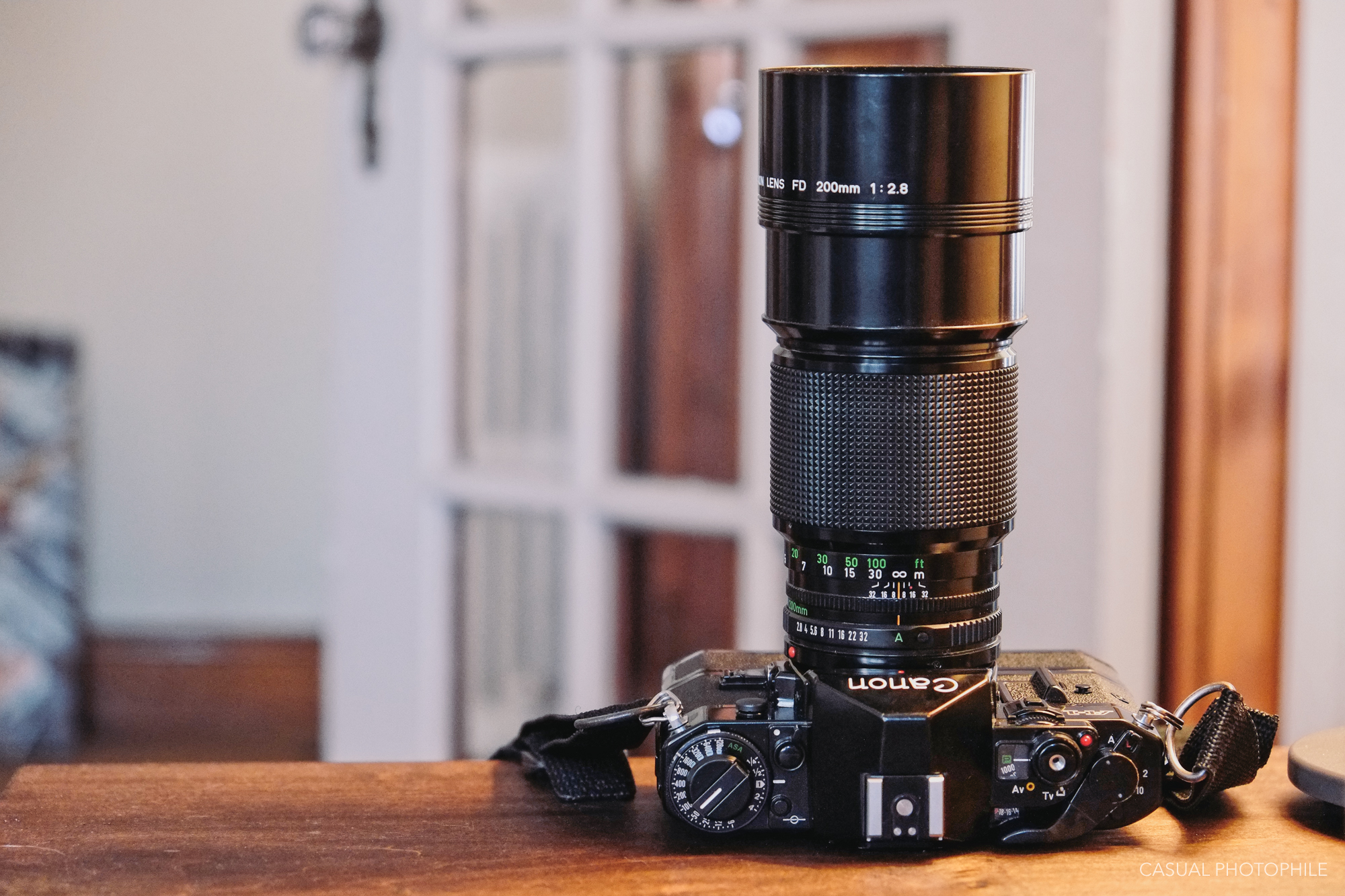 Canon FD 200mm F/2 8 Lens Review - A Case for Legacy Telephoto