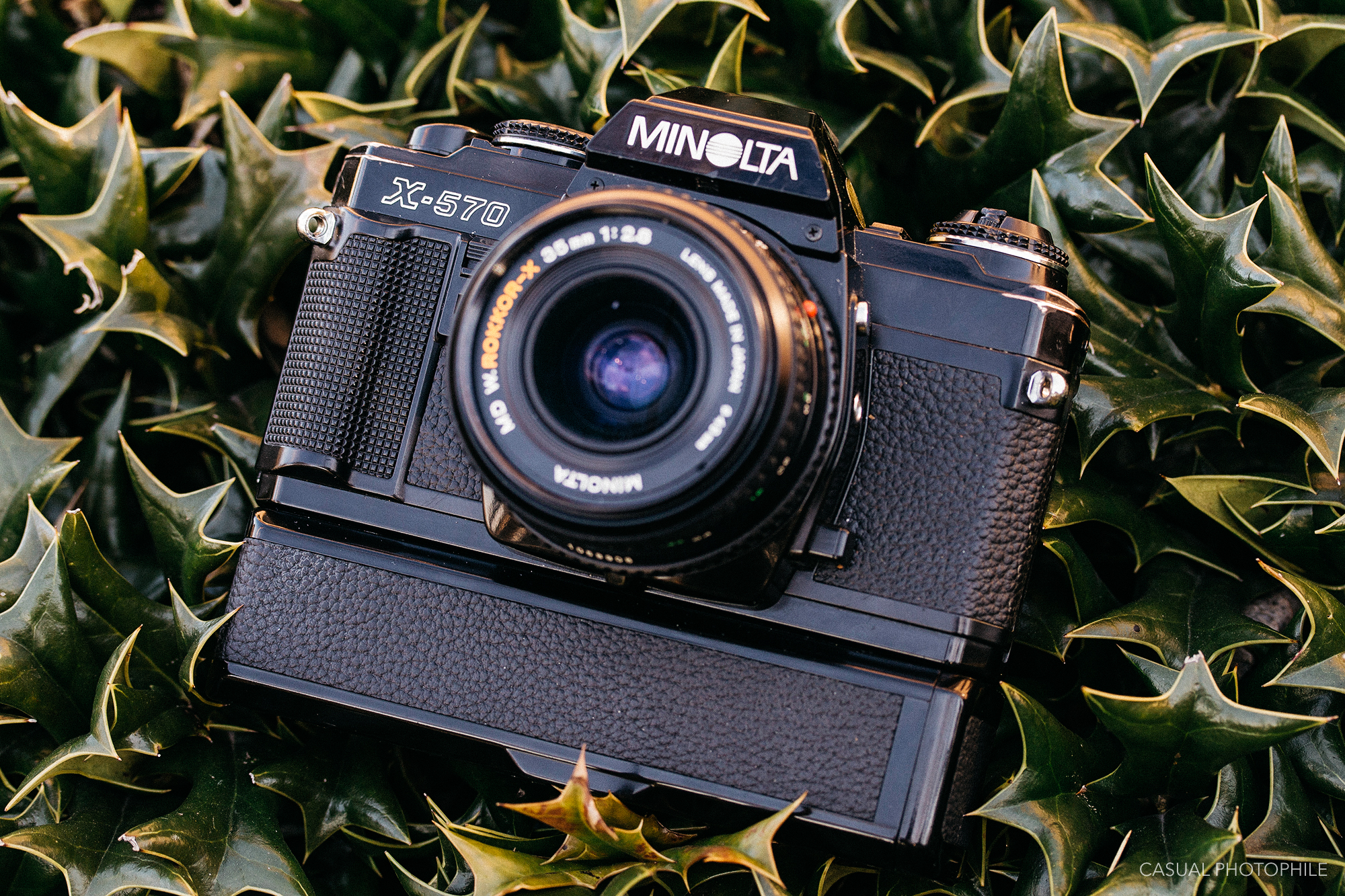 Minolta X-570 and the Maxxum 7000 - The End (and Beginning